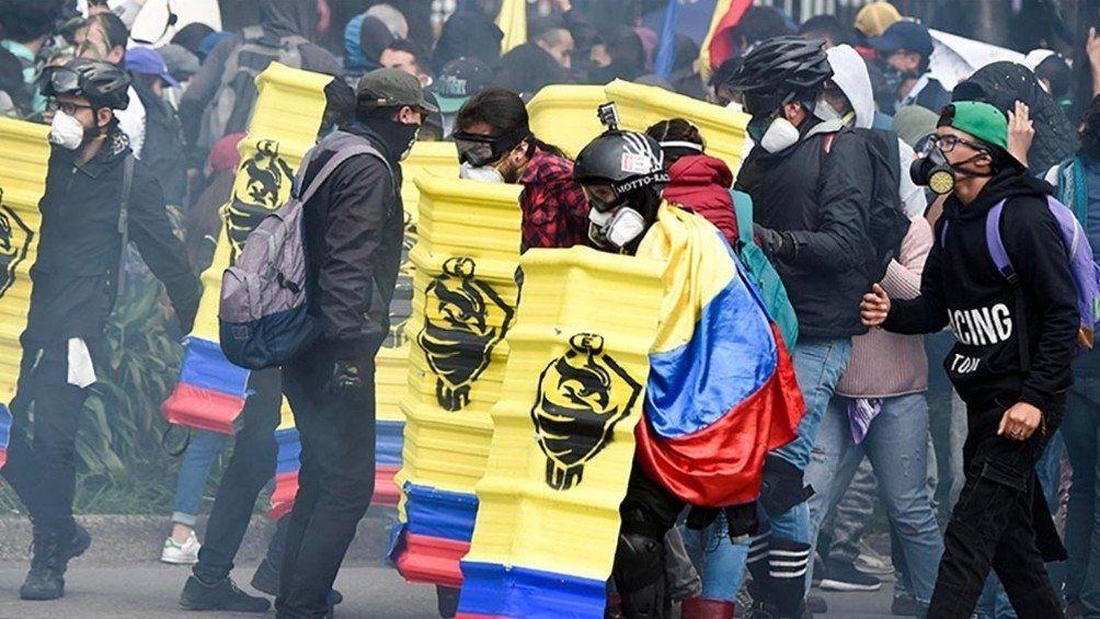 Un mes del paro nacional en Colombia