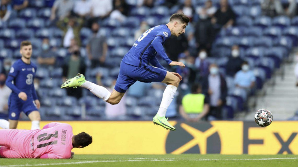Champions League: Chelsea le está ganando al City 1 a 0