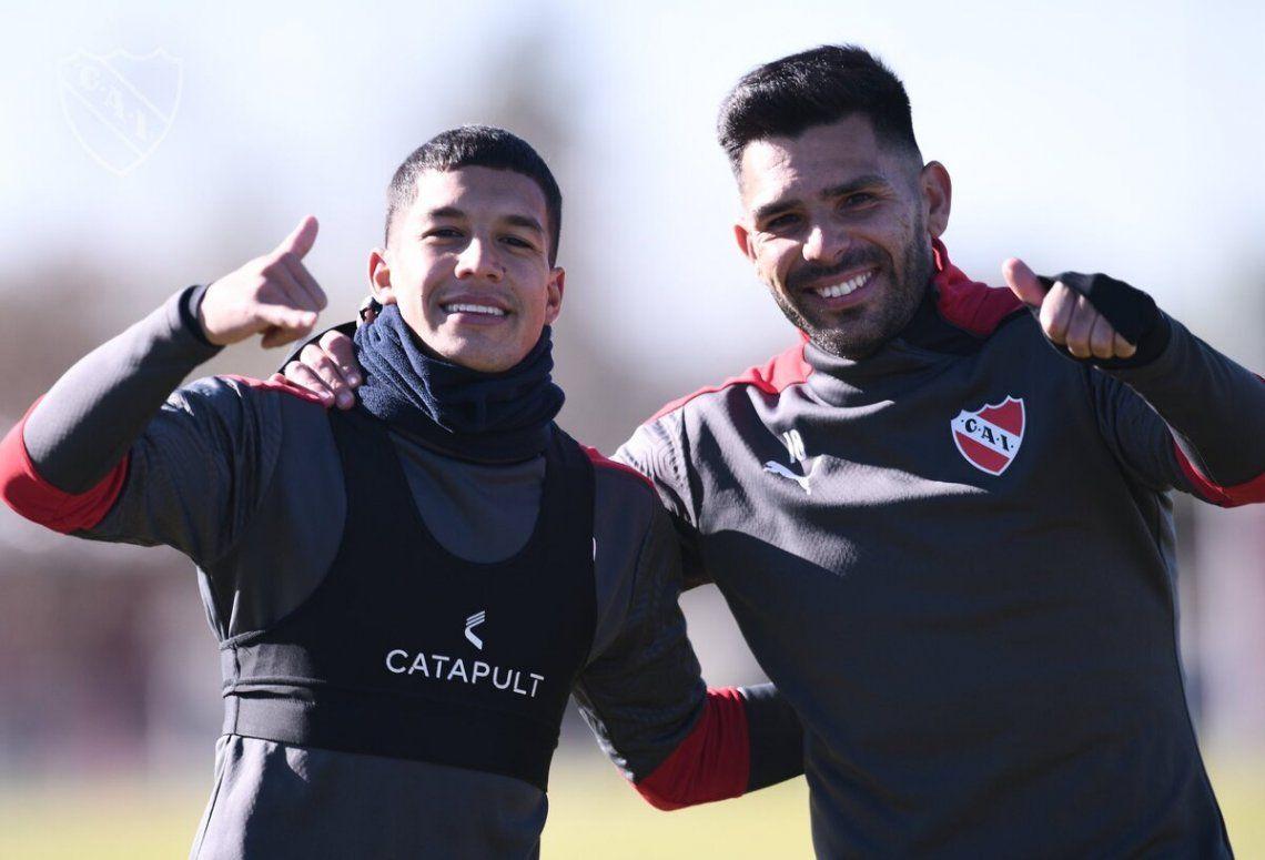 Los Romero se consolidan en el equipo de Julio César Falcioni.