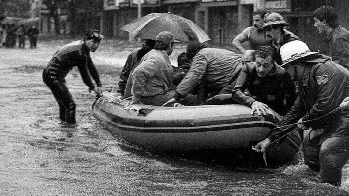 Se cumplen 36 años de la tormenta denominada como La Lluvia del Siglo.