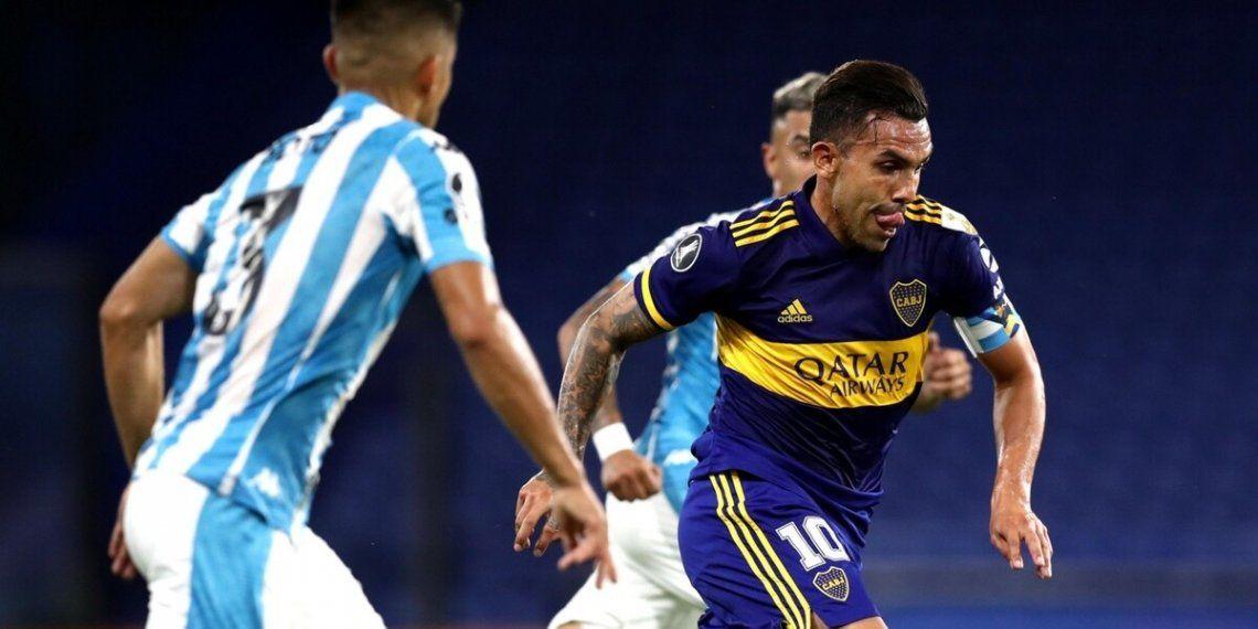 Carlos Tevez será titular en la delantera de Boca.