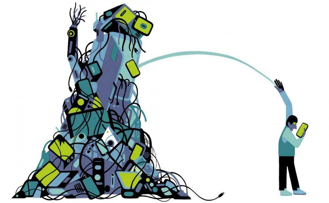 Argentina genera 500 mil toneladas de chatarra electrónica al año