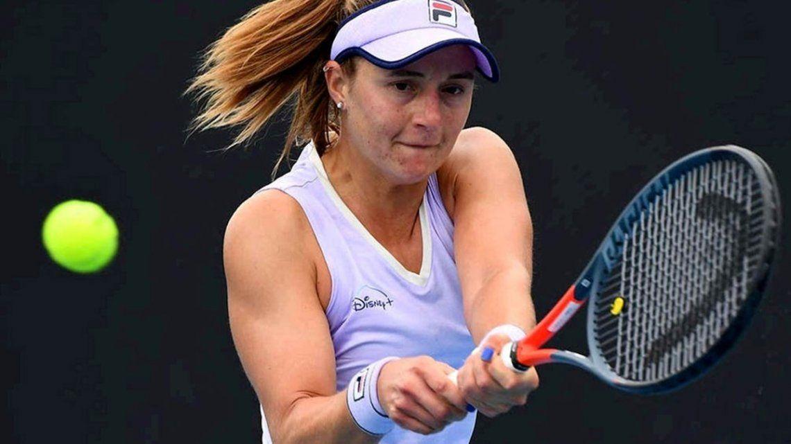 Podoroska quedó afuera del Roland Garros en su debut.
