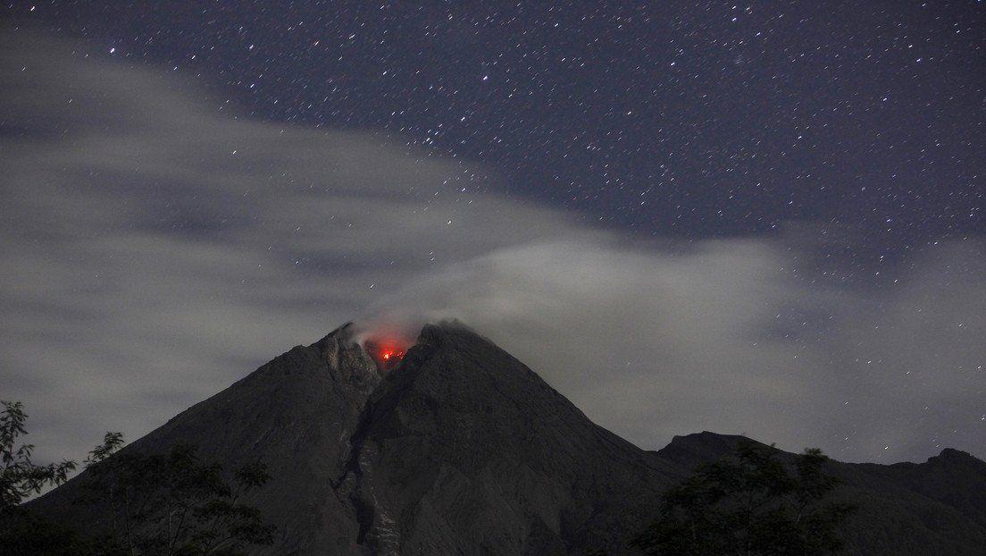 Volcán Merapi.