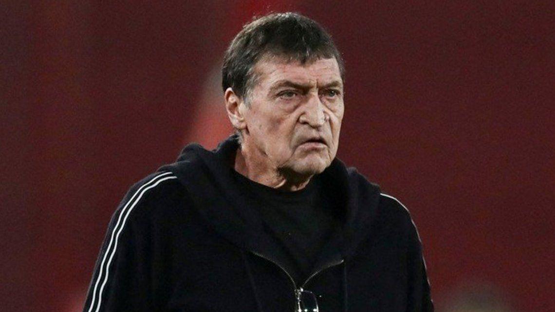 El entrenador de Independiente