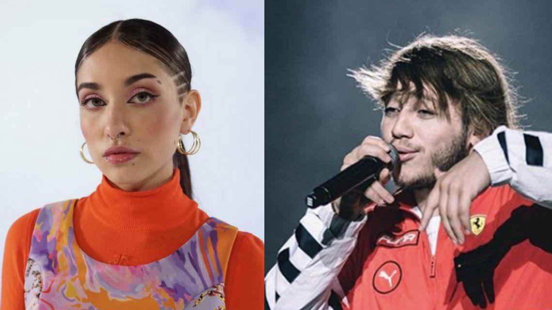María Becerra intentó aclarar la polémica: Quiero que Paulo pueda volver a sacar música.