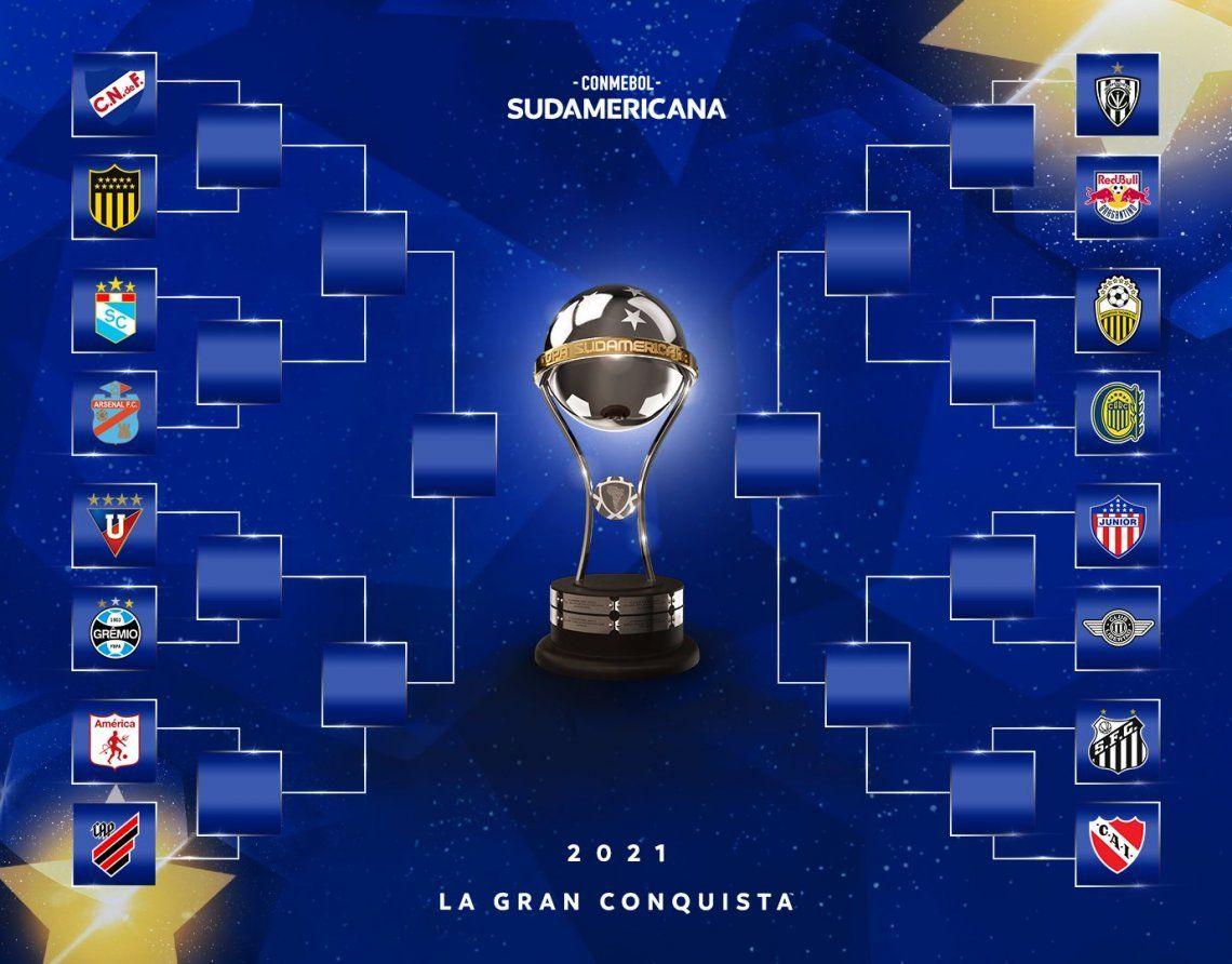 Copa Sudamericana: los equipos argentinos ya conocen a sus rivales.