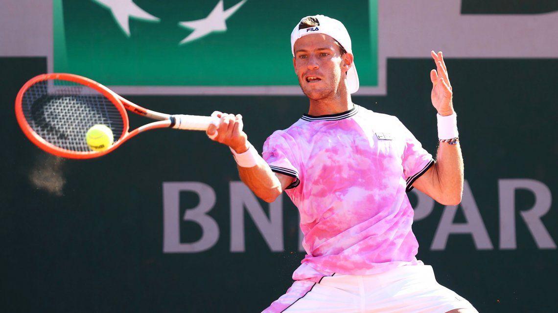 Diego Schwartzman ganó bien nen su debut en Roland Garros