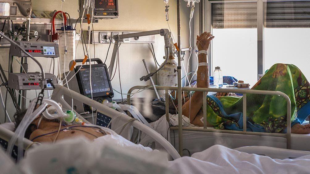 Gran ocupación en terapia intensiva.
