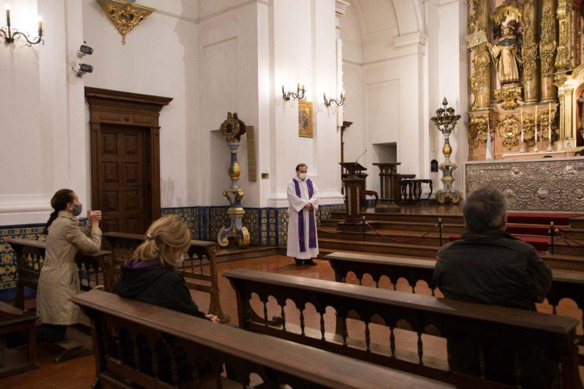 La Iglesia recordó además que ha adoptado todas las normas que eviten la difusión del Covid-19″.