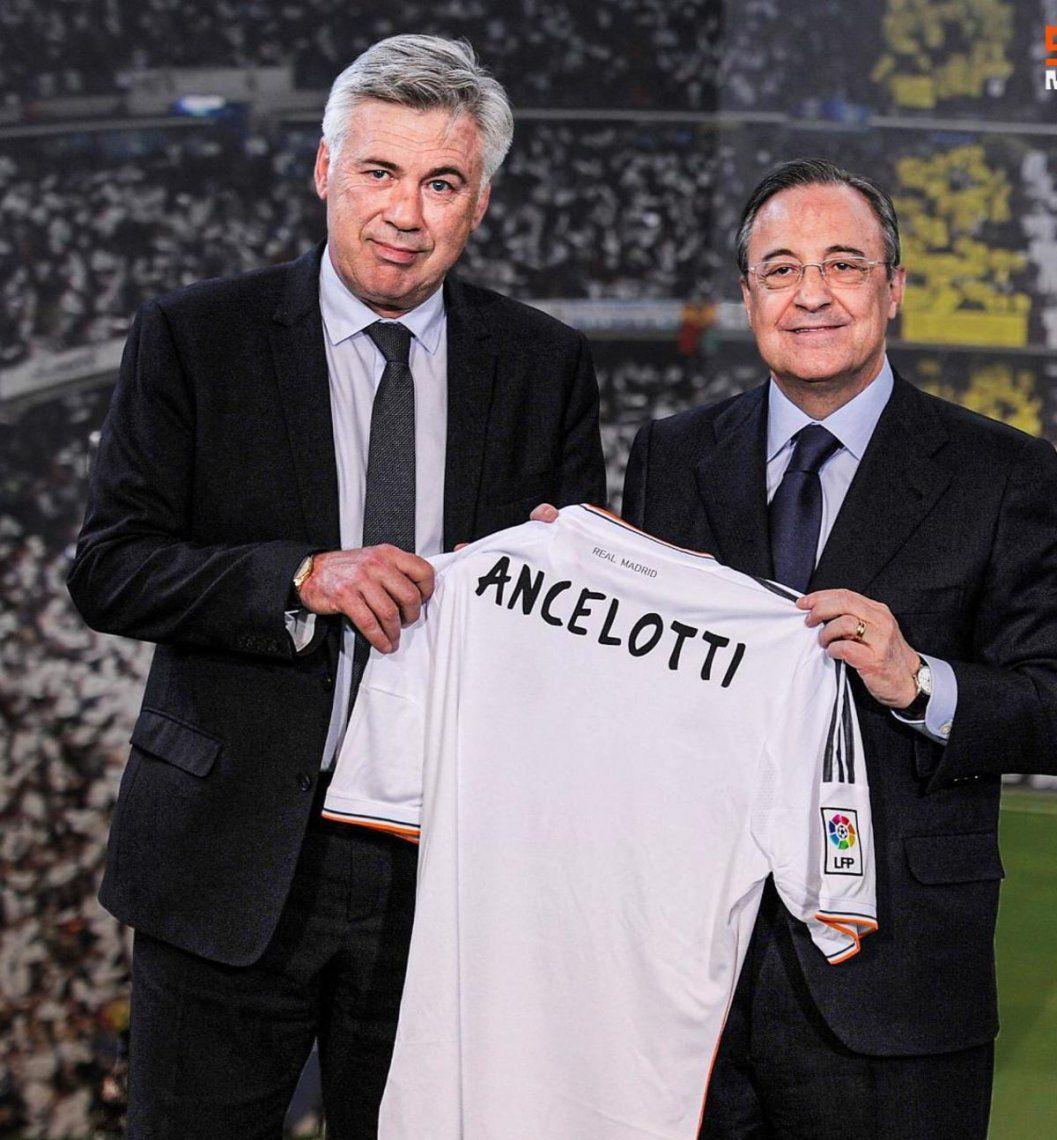 Carlo Ancelotti es el nuevo DT del Real Madrid.