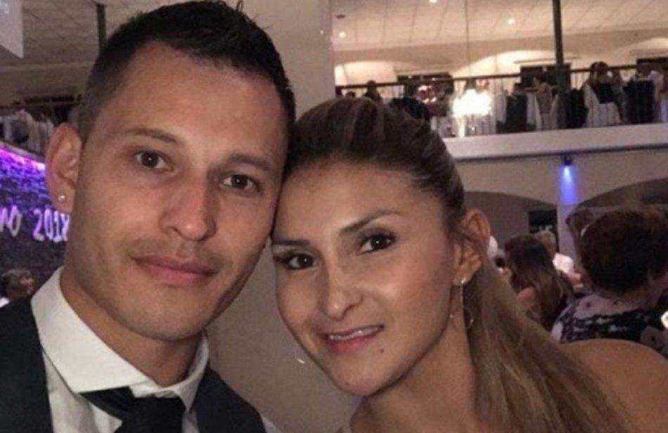 Jefa policial cayó junto a su pareja.