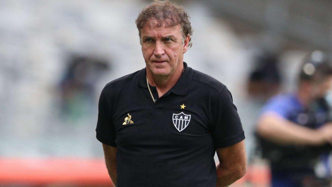 La declaración de Cuca, DT de Atlético Mineiro, tras conocer que Boca será su rival