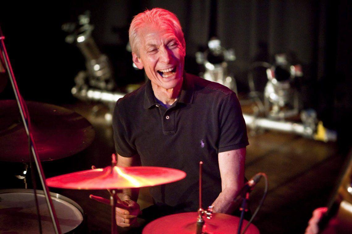 Charlie Watts, el eterno baterista de los Rolling Stones, cumple 80 años