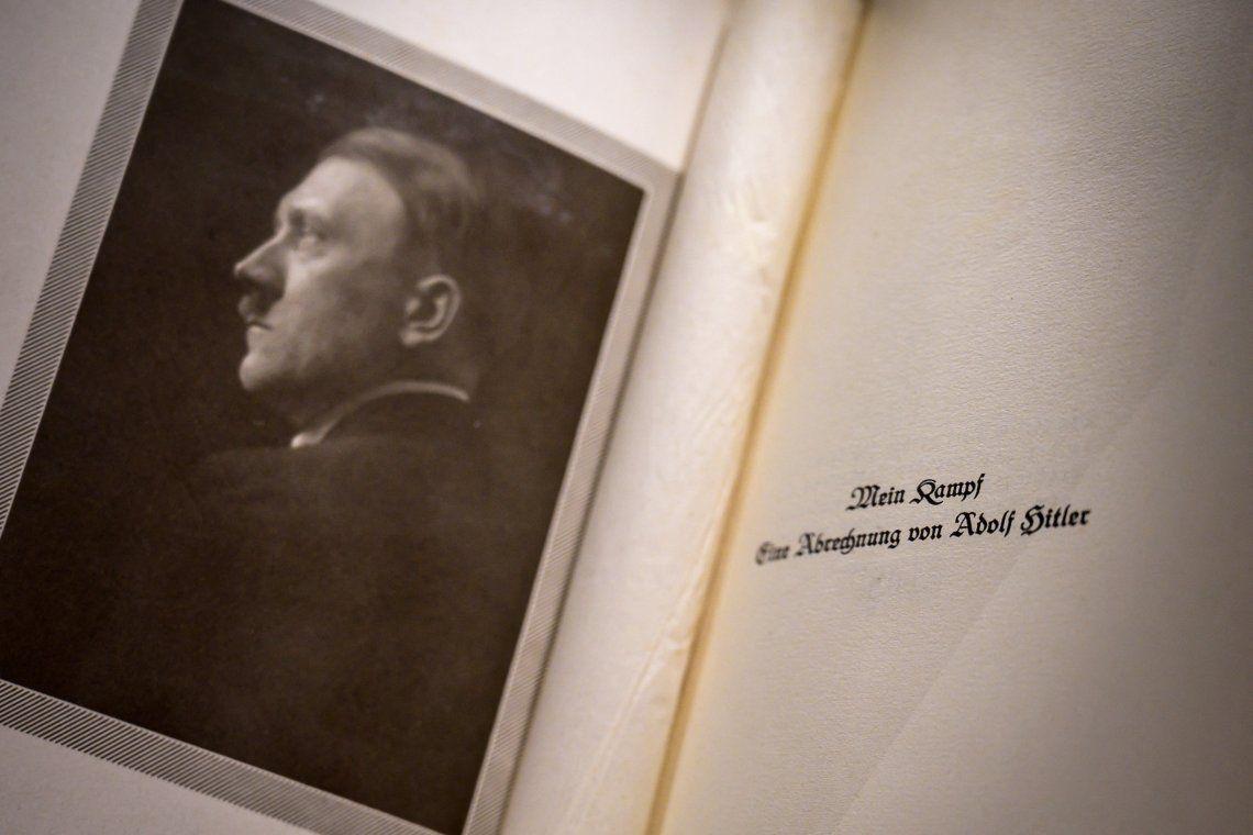 Francia: publican una edición crítica del libro de Hitler Mi lucha