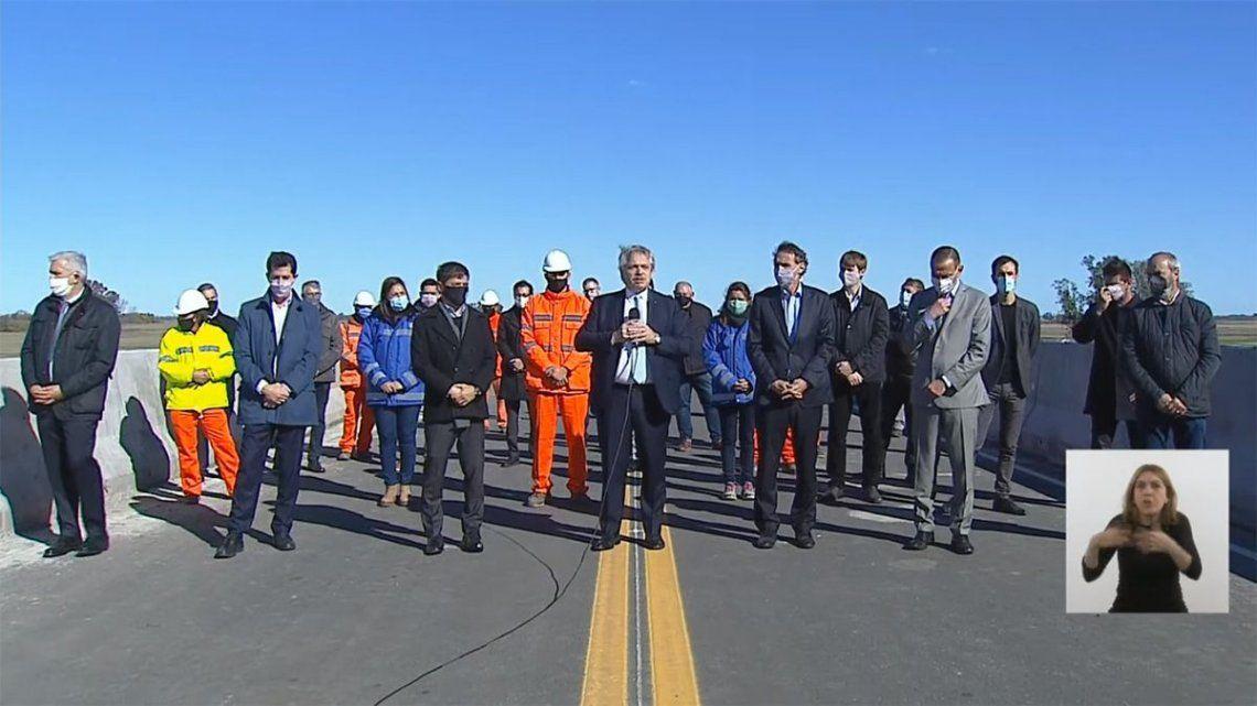 El Gobierno informó que las obras reactivadas y finalizadas permitirán brindar una mayor seguridad vial y así mitigar la probabilidad de siniestros.