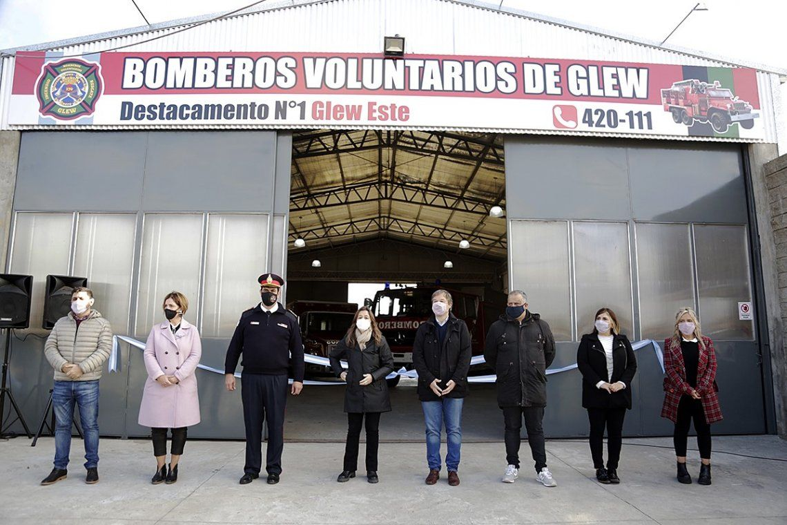 Almirante Brown: Inauguraron el cuartel de Bo