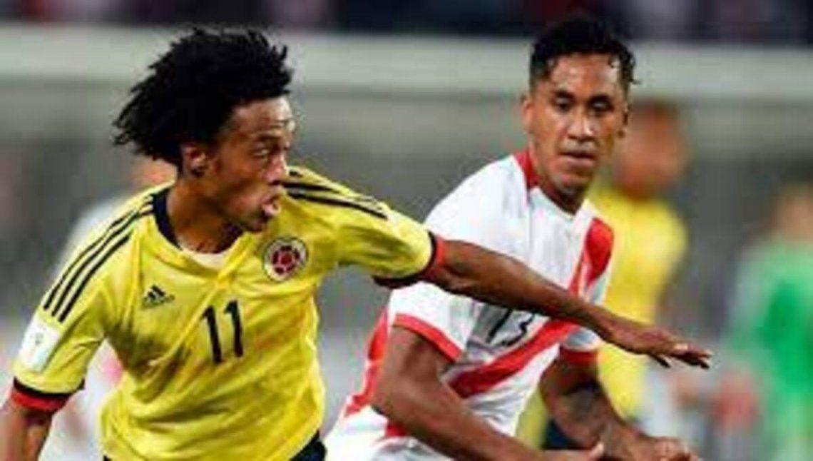 Perú y Colombia se volverán a ver las caras mañana en las Eliminatorias.