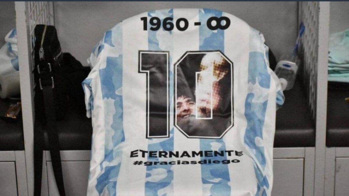 En honor a Maradona