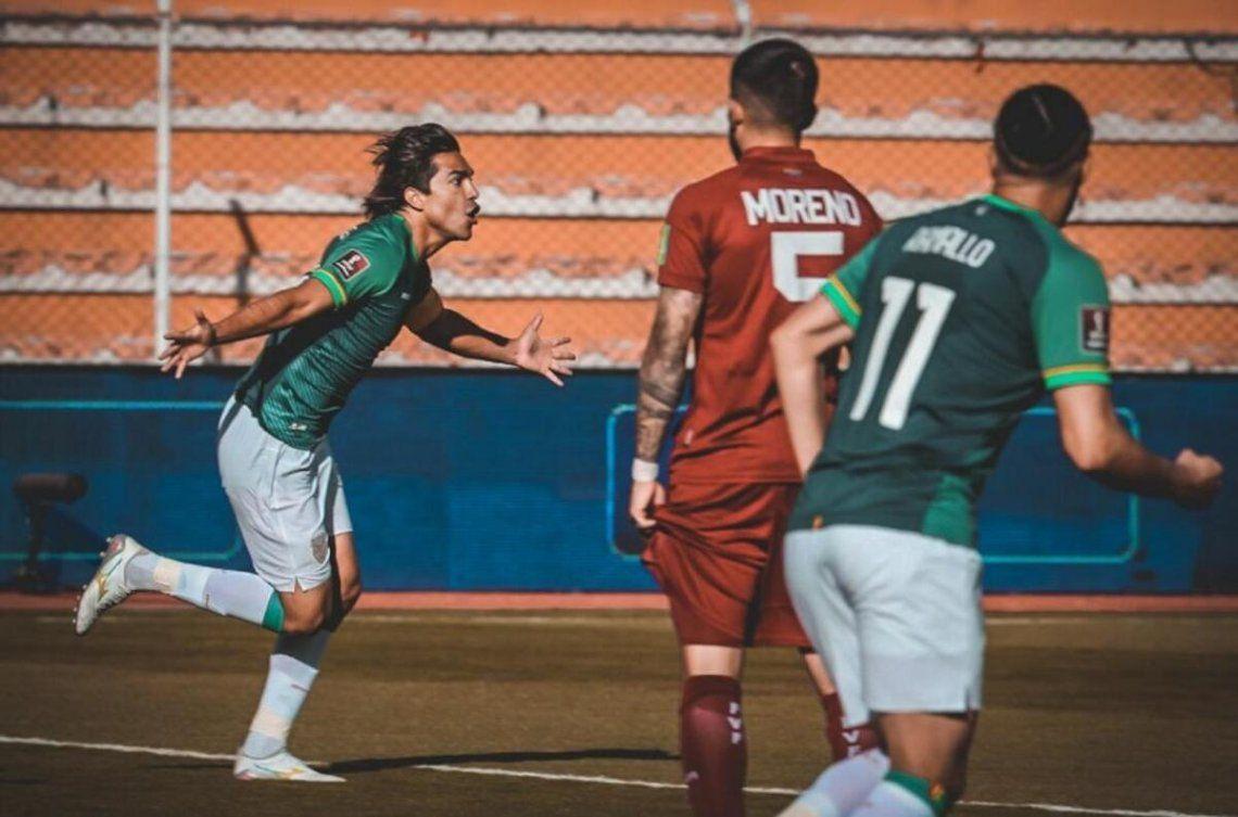 Bolivia le ganó 3-1 a Venezuela y consiguió su primer triunfo