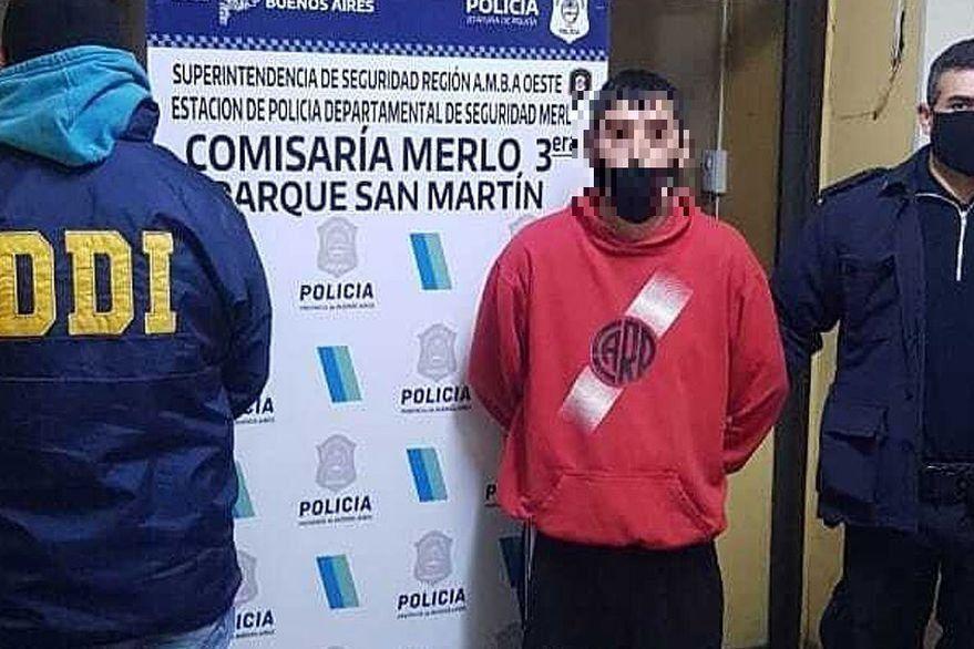Marcelo Alejandro Zárate fue vinculado con el brutal crimen de Merlo por una testigo.