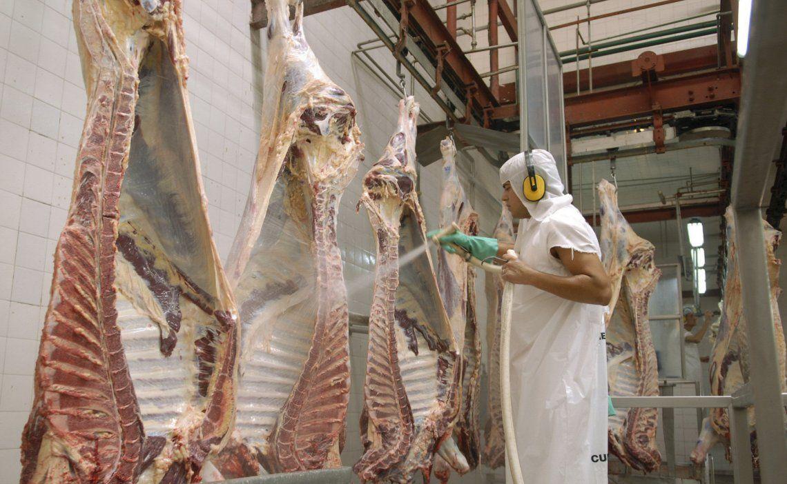 Los frigoríficos exportadores y supermercados negocian destrabar la suspensión de exportaciones de carne.