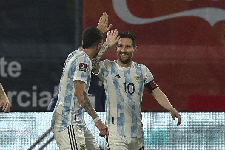 Lionel Messi abrió el marcador para la Selección Argentina