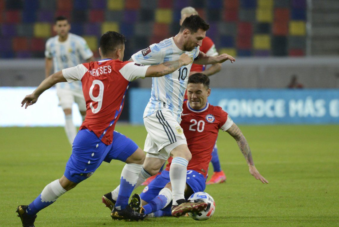Messi marcó un gol pero a Argentina no le alcanzó.