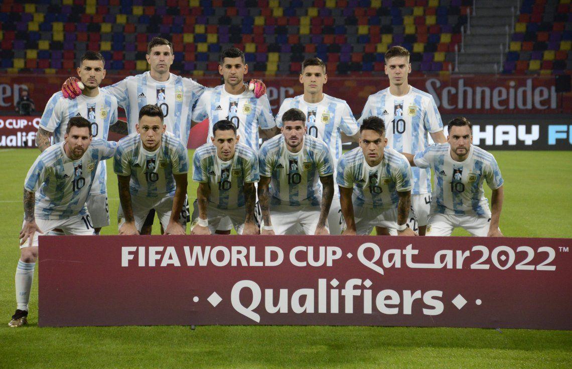 Argentina quedó a un punto de Brasil que hoy cierra la fecha de las Eliminatorias Sudamericanas