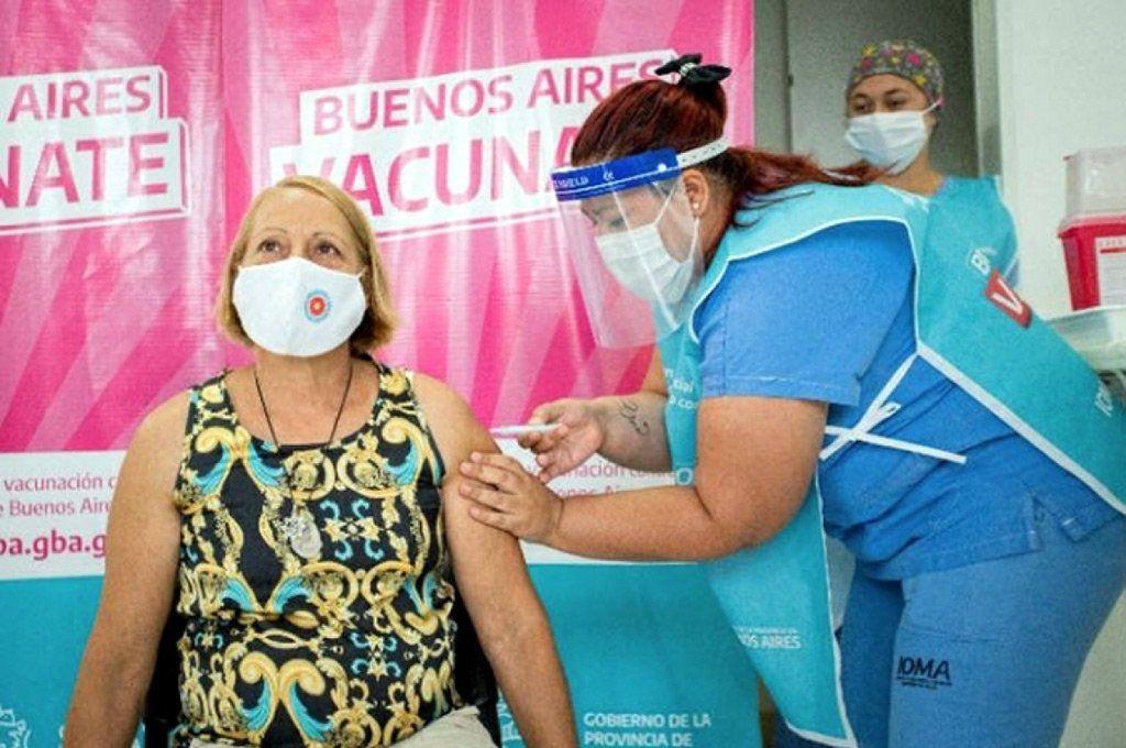 Kicillof: En Provincia, vacuna libre a mayores de 70 y sin inscripción