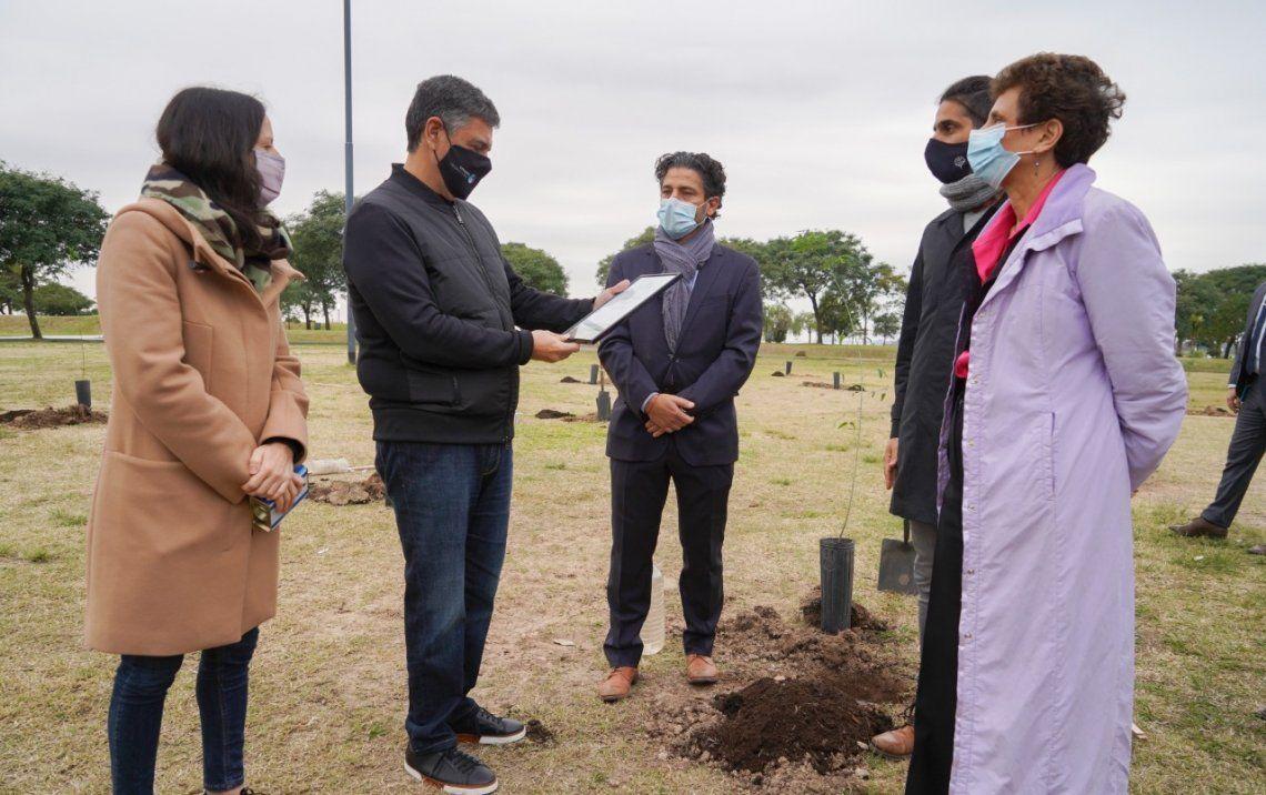 Compromiso por el cuidado ambiental entre Vicente López  e Israel