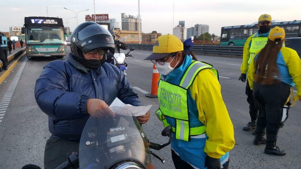 Este fin de semana habrá controles estrictos en los principales accesos a la Ciudad de Buenos Aires.