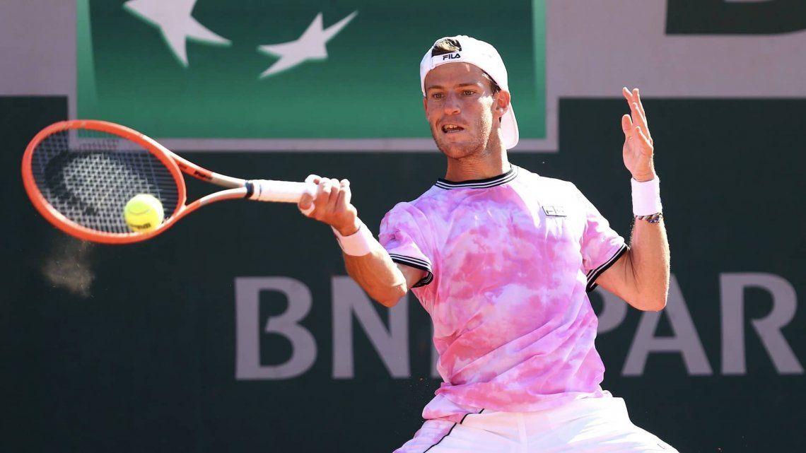 El Peque Schwartzman avanza a paso firme en Roland Garros.
