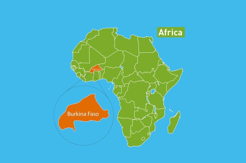 Burkina Faso es un estado de África Occidental y tiene unos 14 millones de habitantes