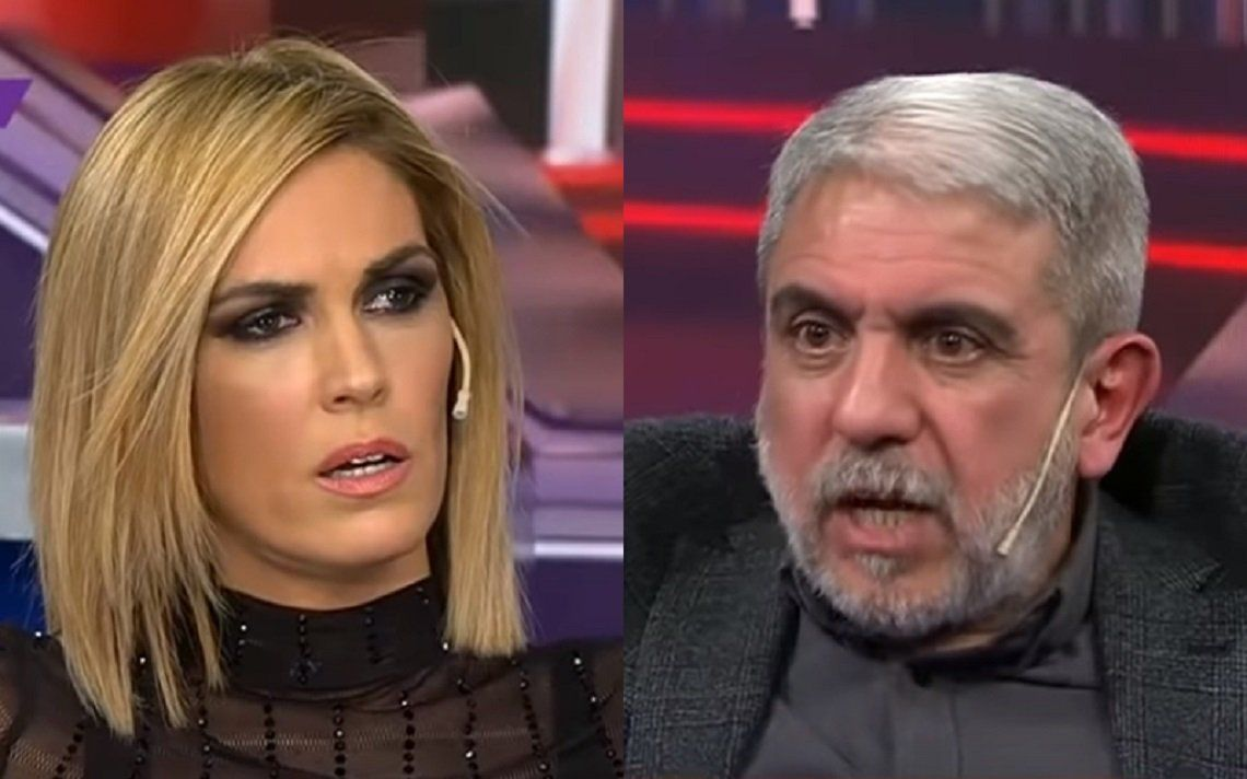 Viviana Canosa y Aníbal Fernández volvieron a cruzarse al aire con ironía.
