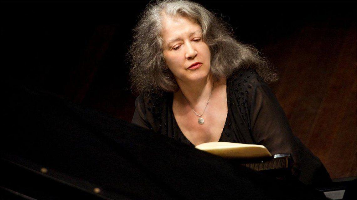 Cumple 80 años Martha Argerich: la mejor pianista argentina.