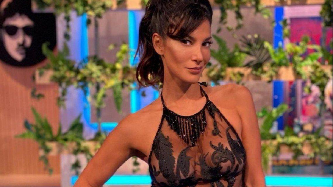 Silvina Escudero elevó temperatura en las redes sociales.
