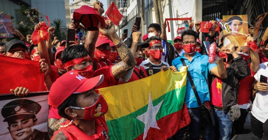 Al menos 43 personas murieron este sábado en Birmania tras la jornada más sangrienta en casi dos meses.