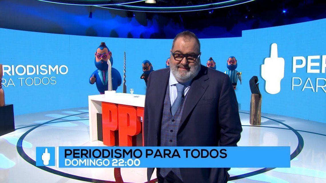 Jorge Lanata vuelve a las 22:00 con la décima temporada de Periodismo Para Todos.