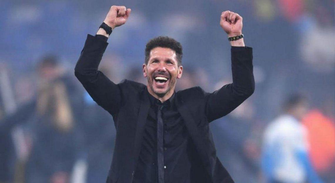 El Cholo Simeone renovó su contrato con el Aleti.