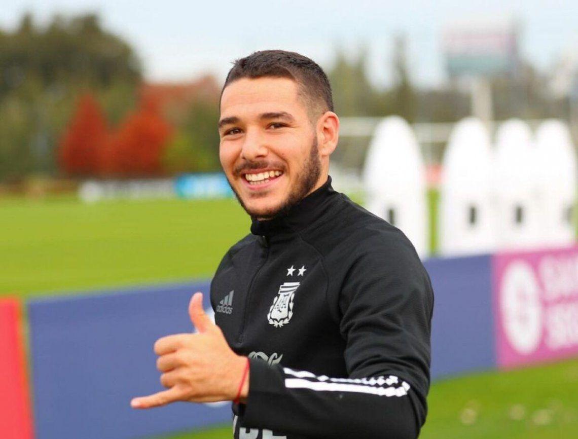 Emiliano Buendía integra por primera vez la Selección Argentina.