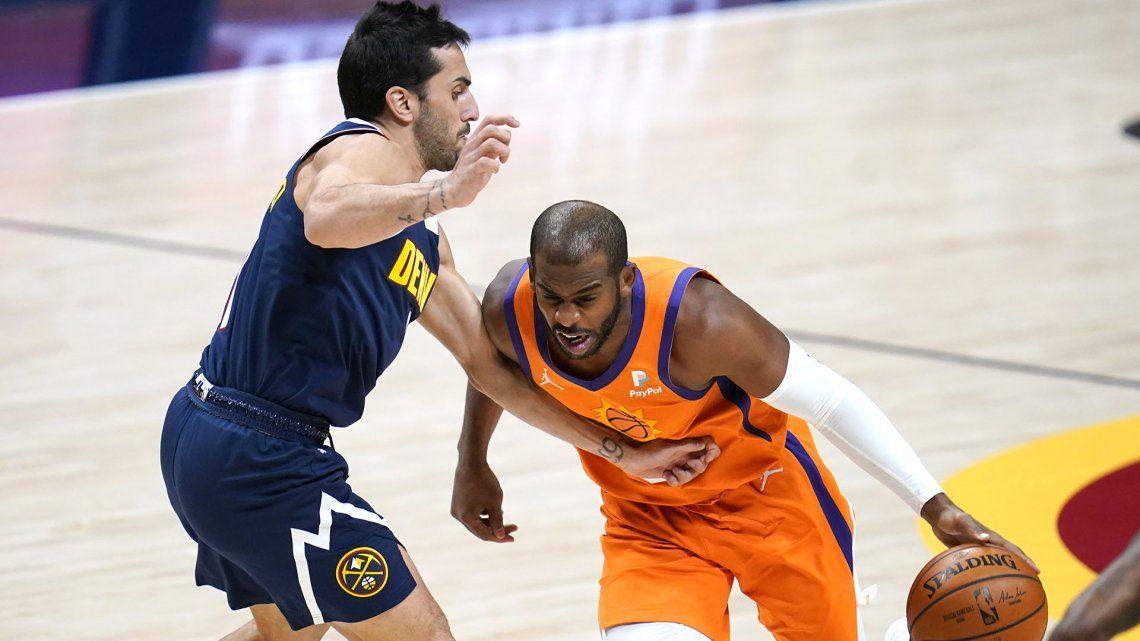Campazzo y los Nuggets abren la serie contra los Suns por las semifinales de la NBA
