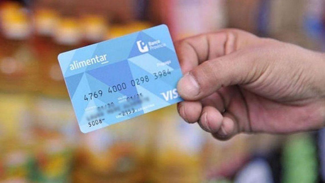 Tarjeta Alimentar: los beneficios comienzan a acreditarse desde hoy
