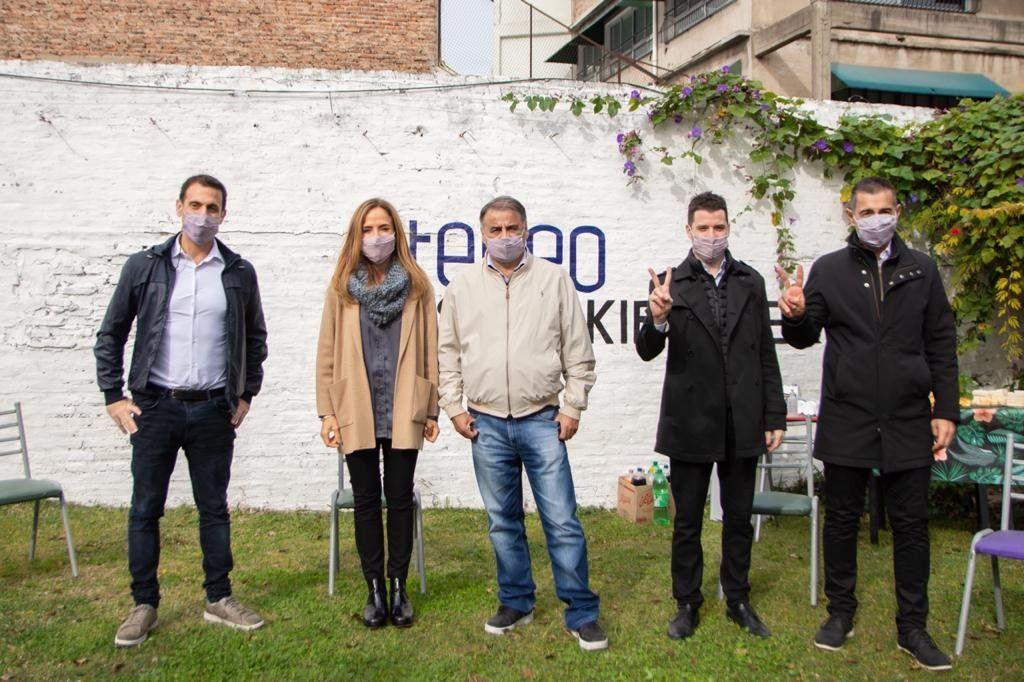 Tolosa Paz participó de un plenario político en Lanús