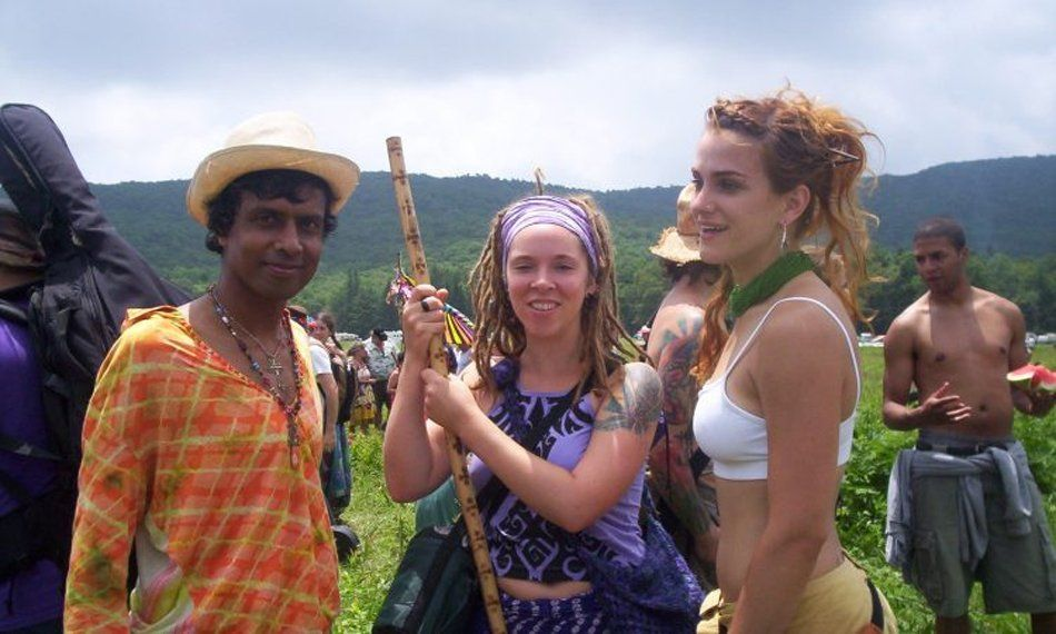 Comunidad hippie en España.
