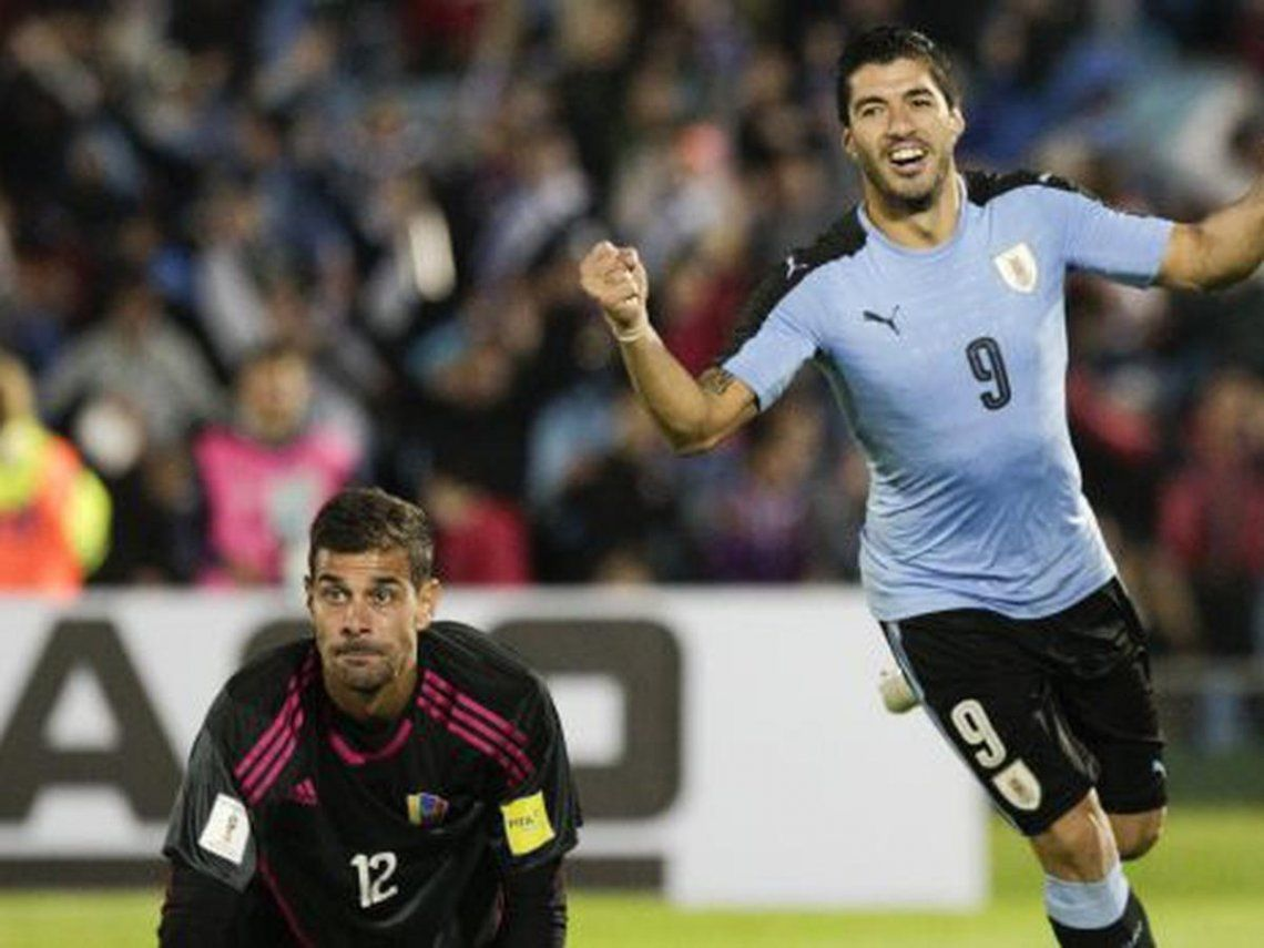 Uruguay recibe mañana a Venezuela.