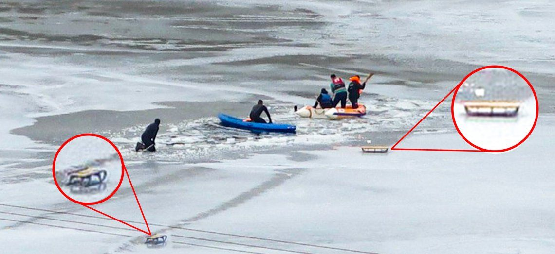 Dos chicos de 10 años murieron al caer en las aguas heladas de un dique en Santa Cruz. Imagen: La Opinión Austral.