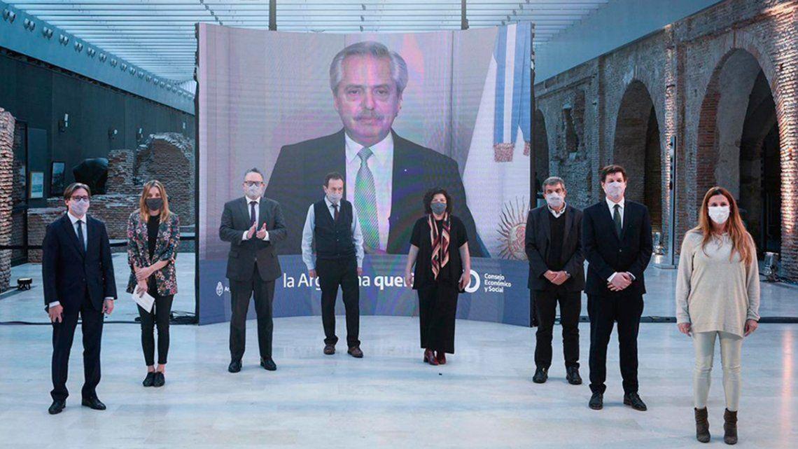 El anuncio fue realizado en un mensaje grabado que se difundió al término del Foro Internacional Geopolítica de las vacunas.