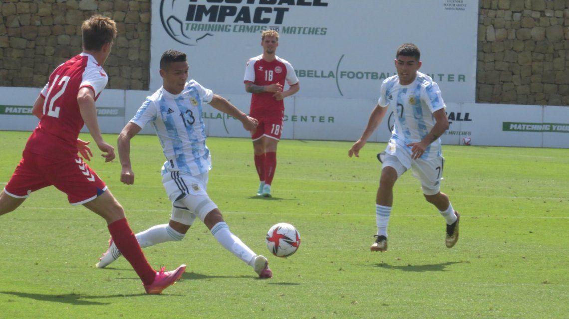 La Selección Argentina Sub 23 se impuso a Dinamarca