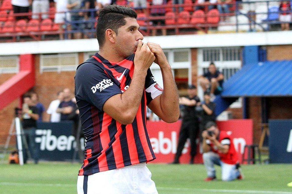 Néstor Ortigoza vuelve a San Lorenzo de Almagro
